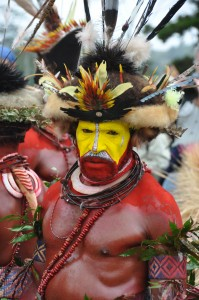 Sing-sing in Papua New Guinea.