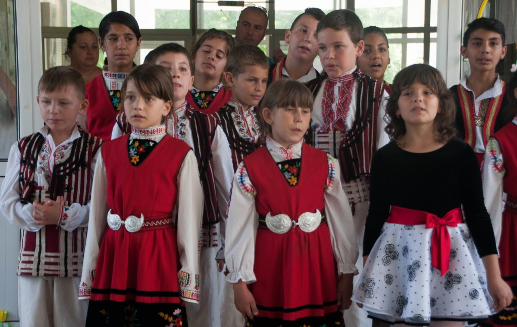 School in a Bulgarian village