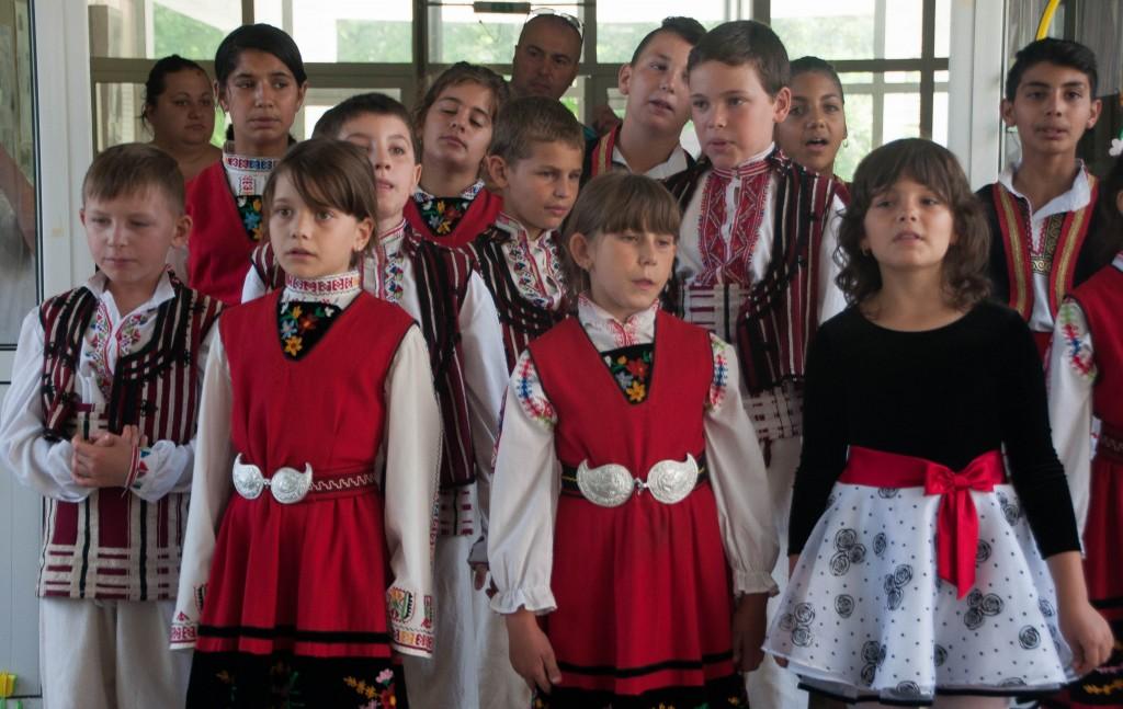 School in a Bulgarian village